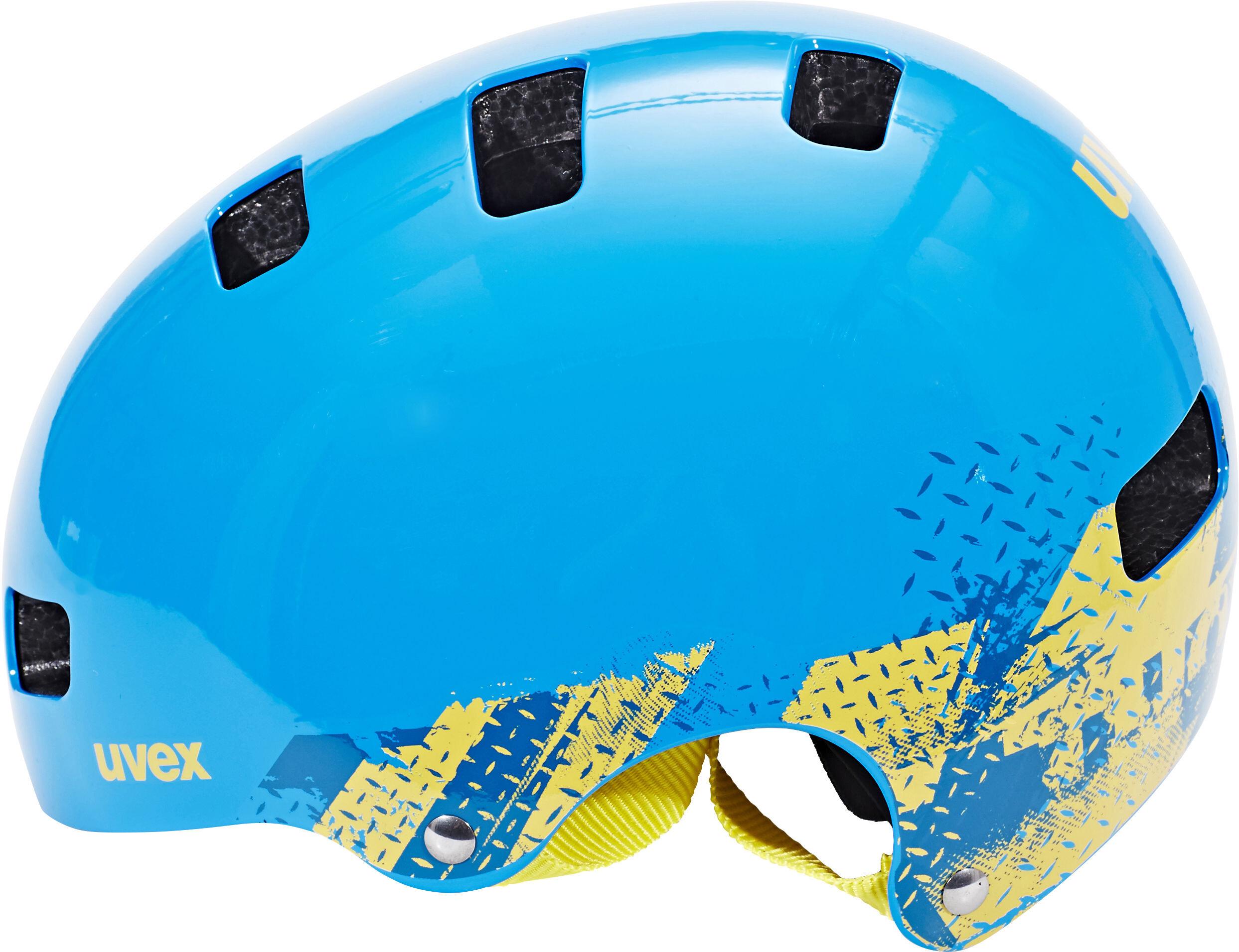 c948102423e UVEX Kid 3 Cykelhjälm Barn blackout blue - till fenomenalt pris på ...